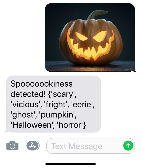 spooky pumpkin results